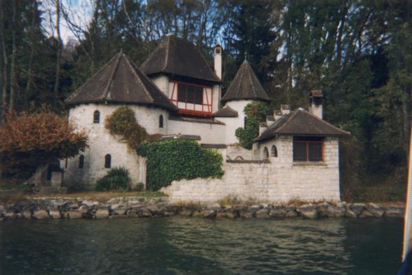 La tour de C.G. Jung à Bollingen (Suisse)